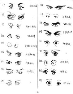 how to draw eyes | Eyes Drawing 07 by ~spitfirehiei on deviantART
