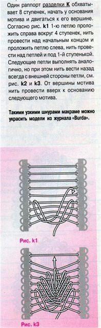 Румынское кружево.Техника вязания. Обсуждение на LiveInternet - Российский Сервис Онлайн-Дневников