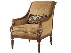 Fine Furniture Design and Mkt Living Room Chair - Hickory Furniture Mart - Hickory, NC Furniture Styles, Large Furniture, Furniture Design, Furniture Outlet, Discount Furniture, Traditional Home Furniture, Upholstered Accent Chairs, Hickory Furniture, Living Room Chairs