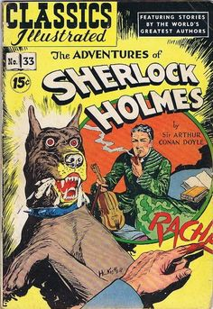 "Classics Illustrated ""The Adventures of Sherlock Holmes,"" 1947"