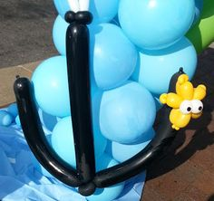 Balloon Anchor with star fish