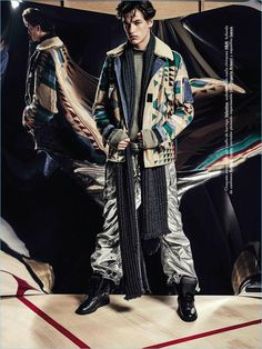 Oversized: Jegor Venned Models the Trend for GQ España
