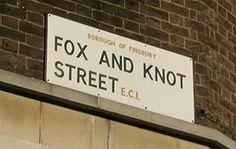 Fox and Knot Street - London