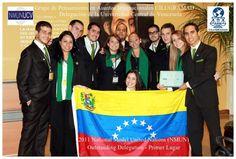 Delegación de la UCV en el Modelo de las Naciones Unidas