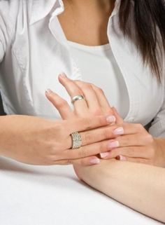 Treatment for hand reflexology... You've tried reflexology on your feet and have felt the benefits. Hand reflexology also helps rejuvenate and heal your body. Give it a try along with your next foot reflexology treatment!