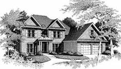 Colonial Country House Plan 93063 Elevation