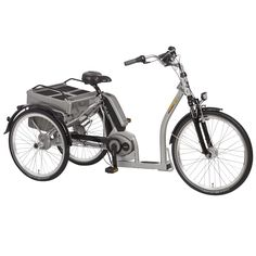 Pfiff Grazia Electric 24 and 26 inch Wheels Bosch Motor Adult Tricycle -