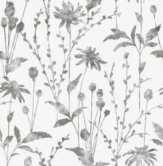 Albany Meadow Black Wallpaper main image
