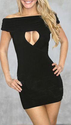 sexy little black dress. Bachelorette Party Dress!