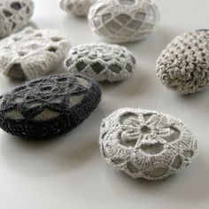 Crochet stones | Flickr - Photo Sharing!