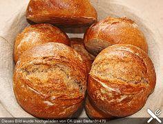 Dinkelvollkornbrötchen mit Lievito Madre (Rezept mit Bild)   Chefkoch.de
