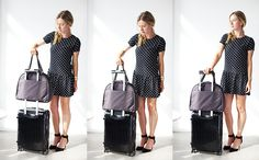 The O.M.G. - Women's Lightweight Travel Bag & Stylish Gym Bag - Lo & Sons