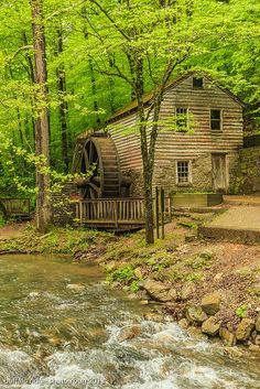 Clear creek Gristmill, East TN code gets off Landscape Photography, Nature Photography, Landscape Photos, Beautiful World, Beautiful Places, Beautiful Pictures, East Tennessee, Nashville Tennessee, Water Powers