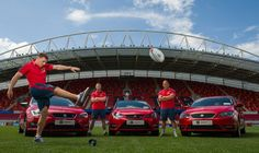 @SEAT Cars Ireland announces official partnership with #Munster #Rugby