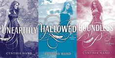 Unearthly Series. One of the best angel series!! Finshed all three in three days couldn't put them down!! Love these books!!