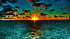 sunset ocean painting - Google Search