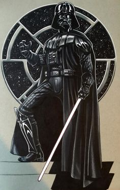 This is Darth Vader. He was my very first villain that I ever made friends with. He taught me almost all the basic things that I know today. He was basically like a father to me. Ain't that ironic!