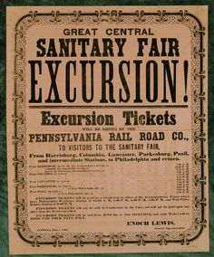 Sanitary Fair Excursion; 1864