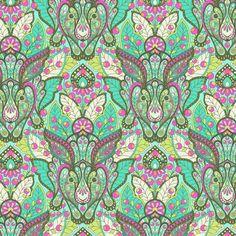 Tula Pink Fabric Slow & Steady The Hare Strawberry Kiwi - https://www.stitchesquilting.com/shop/tula-pink-fabric-slow-steady-the-hare-strawberry-kiwi/