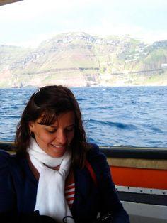 Chegada em Santorini, 2011