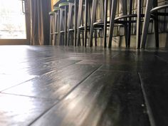 A stunning LVT floor Hardwood Floors, Flooring, Luxury Vinyl Tile, Vinyl Tiles, Black, Wood Floor Tiles, Wood Flooring, Black People, Floor