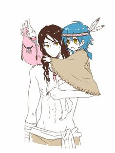 Mink & Aoba - DRAMAtical Murder