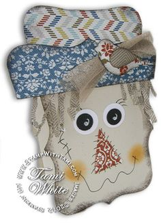 Scarecrow Stampin' Up! Box video tutorial - super cute!!!!