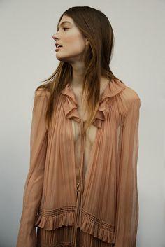 Chloé AW15, Dazed backstage, Womenswear, Paris