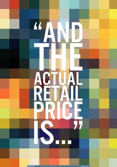 Infamous line from The Price Is Right