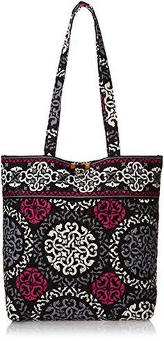 top handle bags: Vera Bradley Tote (Canterberry Magenta) ||| ||| ||| Vera Bradley Tote (Canterberry Magenta) :top handle bags