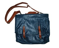 G Star Raw Essential Lux Polish Leather Messenger Bag