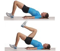 This move teaches you to stabilize the pelvis as the legs move and is great for runners and for preventing ...