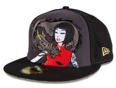 Dragon Lady 59Fifty Fitted Cap by NEW ERA x TOKIDOKI