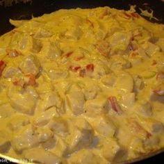 Krämig kycklinggryta m. curry - Recept - Tasteline.com