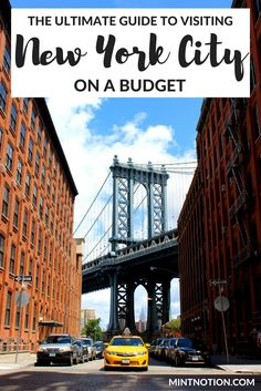 There are plenty of ways to save money when visiting New York City. Click through for the best tips for visiting NYC on a budget.
