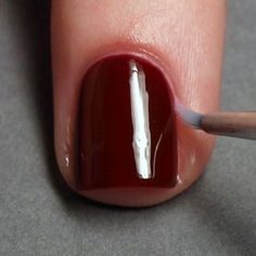 How To Remove Excess Nail Polish   Quick and Easy Mani Tips and Tricks by Makeup Tutorials at http://makeuptutorials.com/makeup-tutorials-32-amazing-manicure-hacks/\po