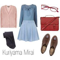 """""""Kuriyama Mirai"""" by ja-vy on Polyvore"""