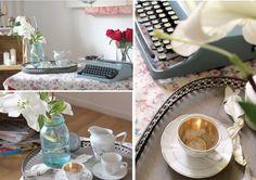 El estilismo de una campiña inglesa hace 50 años y su making of - Deco & Living V60 Coffee, Coffee Maker, Kitchen Appliances, Wedding, Campinas, Creativity, Blue Prints, Outfits, Spaces