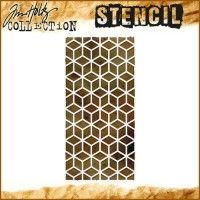 Tim Holtz Layered Stencil - Blocks