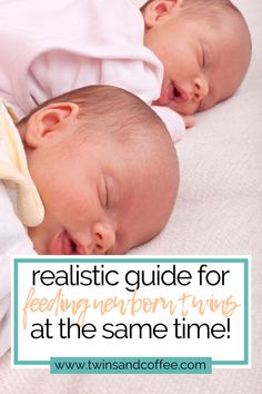 Nursing or bottle feeding, fed is best. Here are the best tips for feeding your newborn twins at the same time as a new twin mom or twin dad Expecting Twins, Newborn Twins, Breastfeeding And Pumping, Twin Nursing Pillow, Bottle Feeding Newborn, Breastmilk Storage, Twin Toddlers, Twin Mom, Breast Feeding