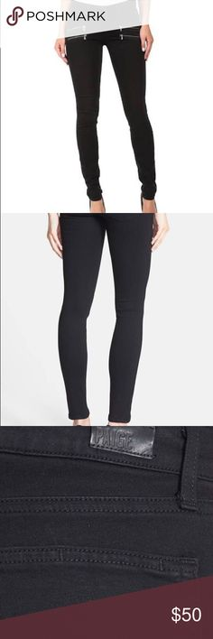 Paige rock n' roll black skinny jeans My absolute favorite look and jeans ever! Skinny, thicker denim that look so great on! No trades PAIGE Jeans Skinny