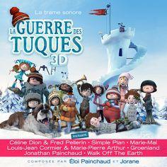La guerre des tuques 3D - Trame sonore originale -  Artistes variés -  Référence : 021263 #Musique #Cadeau #Noël
