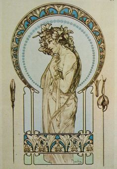 Alphonse Mucha Paintings 7