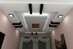 4 Creative And Inexpensive Tricks: False Ceiling Design Hotel false ceiling dining bedrooms. Plaster Ceiling Design, Gypsum Ceiling Design, House Ceiling Design, Ceiling Design Living Room, False Ceiling Living Room, Pop Design, Layout Design, Bath Design, False Ceiling For Hall