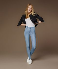 The skin-tight JONI is your ultimate going out jean. Super high rise with a disco silhouette, these jeans were made for the fashion confident. #Topshop