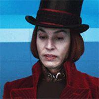 "I got ""You're the original Willy Wonka! Johnny Depp Willy Wonka, Young Johnny Depp, Johnny Depp Characters, Johnny Depp Movies, Johnny Depp Leonardo Dicaprio, Kevin Tighe, Jonny Deep, Tim Burton Films, Chocolate Factory"