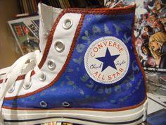 Side: Captain America Shoes