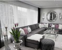 100 Formal Living Room Design Ideas (Pictures) You Won't Miss - WellBeingGuide Living Room Decor Cozy, Elegant Living Room, Living Room Grey, Formal Living Rooms, Living Room Sofa, Home Living Room, Interior Design Living Room, Living Room Designs, Grey Room