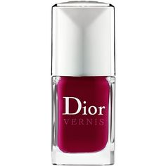 Dior Vernis Nail Lacquer ($24) ❤ liked on Polyvore featuring beauty products, nail care, nail polish, makeup, nails, dior, fillers, christian dior nail polish, christian dior and shiny nail polish