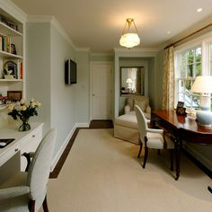 Home Office Design Ideas, Pictures, Remodels and de casas interior design New Interior Design, Beautiful Interior Design, Home Office Design, Interior Design Inspiration, Home Decor Inspiration, House Design, Design Ideas, Design Hotel, Interior Ideas